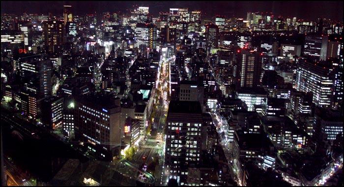 Tokija naktī