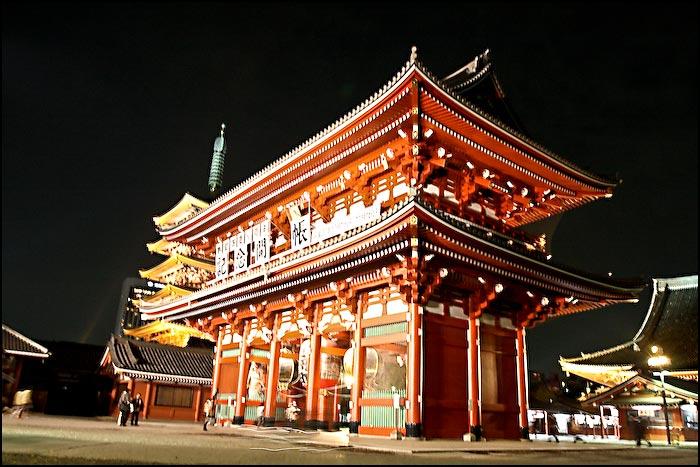 Tokijas ielas- templis