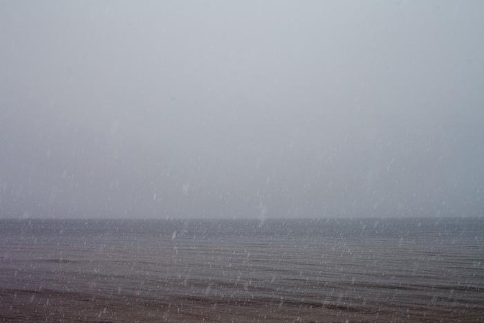 Vakar sniga