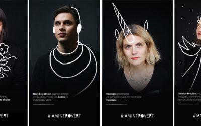 #iamintrovert «Latvian Literature» aicina apmeklēt Latvijā pirmo Introvertu karnevālu