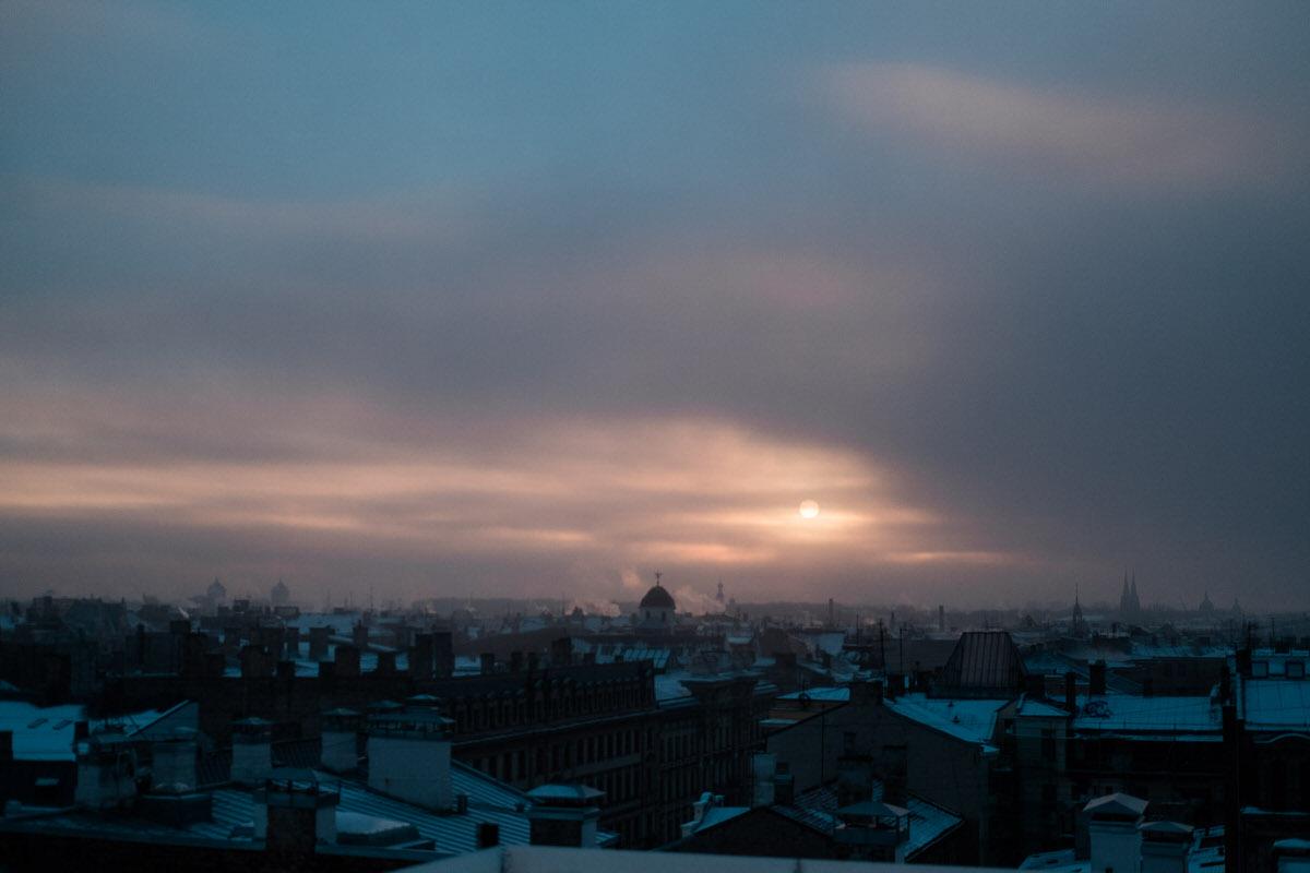 Rīga Saullēktā