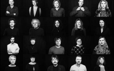Portreti Latvijas Literatūras gada balvas žūrijai un nominantiem