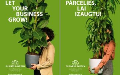 Reklāmas fotosesija | Business Garden Rīga | DDB